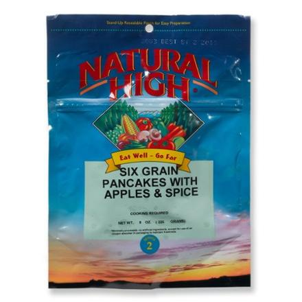 photo: Natural High Six-Grain Pancakes with Apples and Spice breakfast