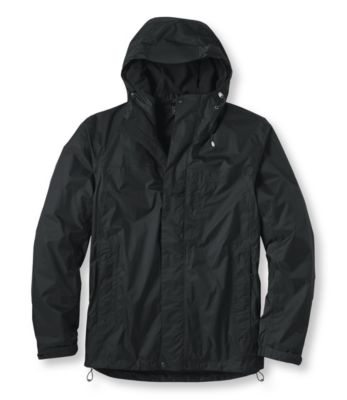 photo: L.L.Bean Kids' Trail Model Rain Jacket, Fleece-Lined waterproof jacket