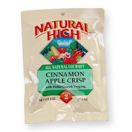 Natural High Cinnamon Apple Crisp