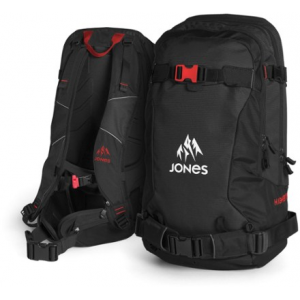 photo of a Jones Snowboards winter pack
