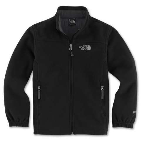 photo: The North Face Boys' WindWall 1 Jacket fleece jacket