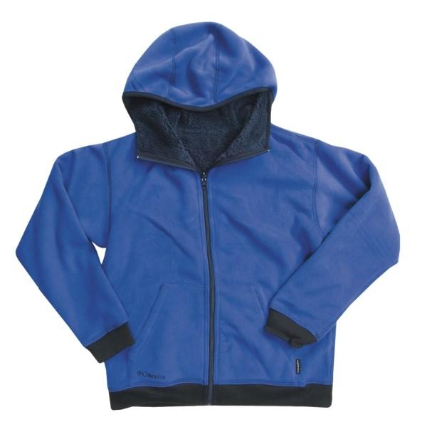 photo: Columbia Boys' Galaxy Hoodie fleece jacket