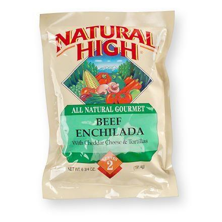 Natural High Beef Enchilada