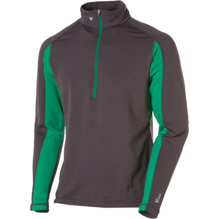 photo: Stoic Merino Composite 1/4 Zip Top base layer top