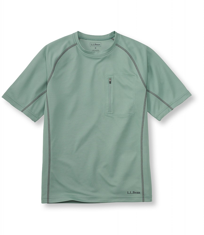 photo: L.L.Bean Coolweave Technical Fishing Shirt, Short-Sleeve short sleeve performance top