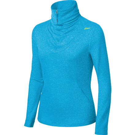 photo: Asics Women's Thermopolis LT Half Zip long sleeve performance top