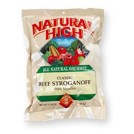 Natural High Beef Stroganoff with Noodles