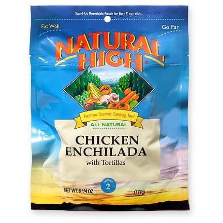 photo: Natural High Chicken Enchilada meat entrée