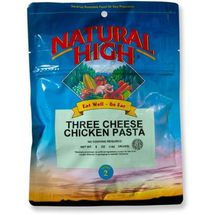 Natural High Three Cheese Chicken Pasta