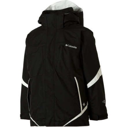 photo: Columbia Boys' Bugaboo Parka component (3-in-1) jacket