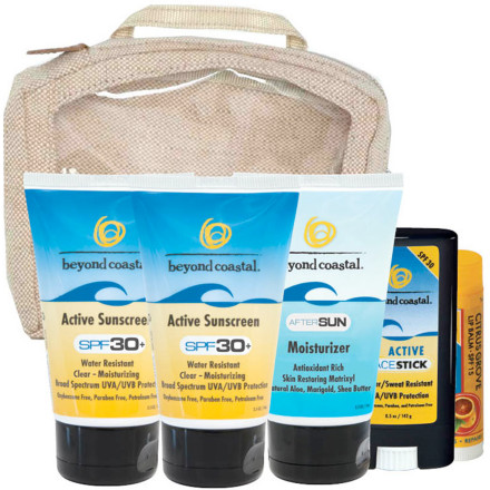 photo: Beyond Coastal Travel Sun Care Kit sunscreen