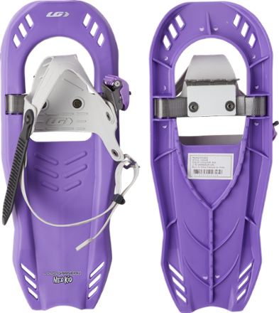 photo: Louis Garneau Neotrail Kid 616 recreational snowshoe