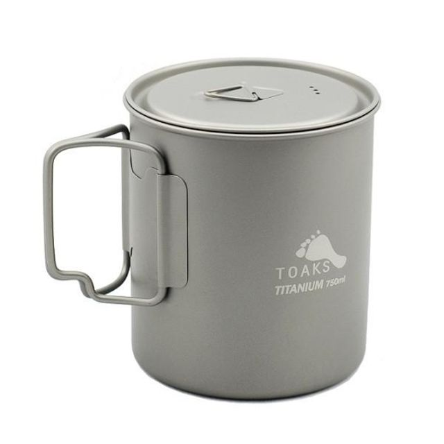 photo: Toaks Titanium 750ml Pot pot/pan