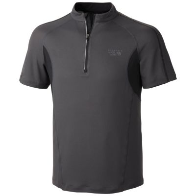 photo: Mountain Hardwear Elmoro S/S Zip T short sleeve performance top