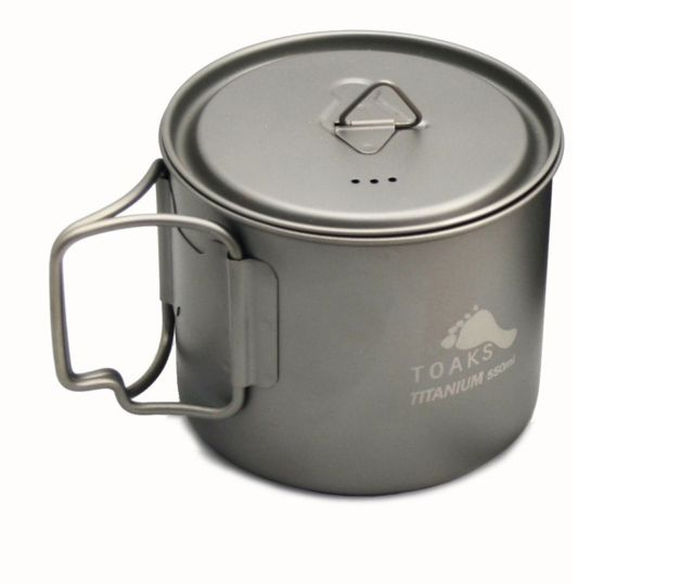 photo: Toaks Light Titanium 550ml Pot (D95mm) pot/pan