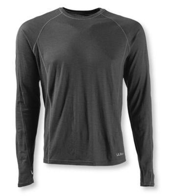 photo: L.L.Bean Cresta Wool Ultralight 150 Long-Sleeve base layer top
