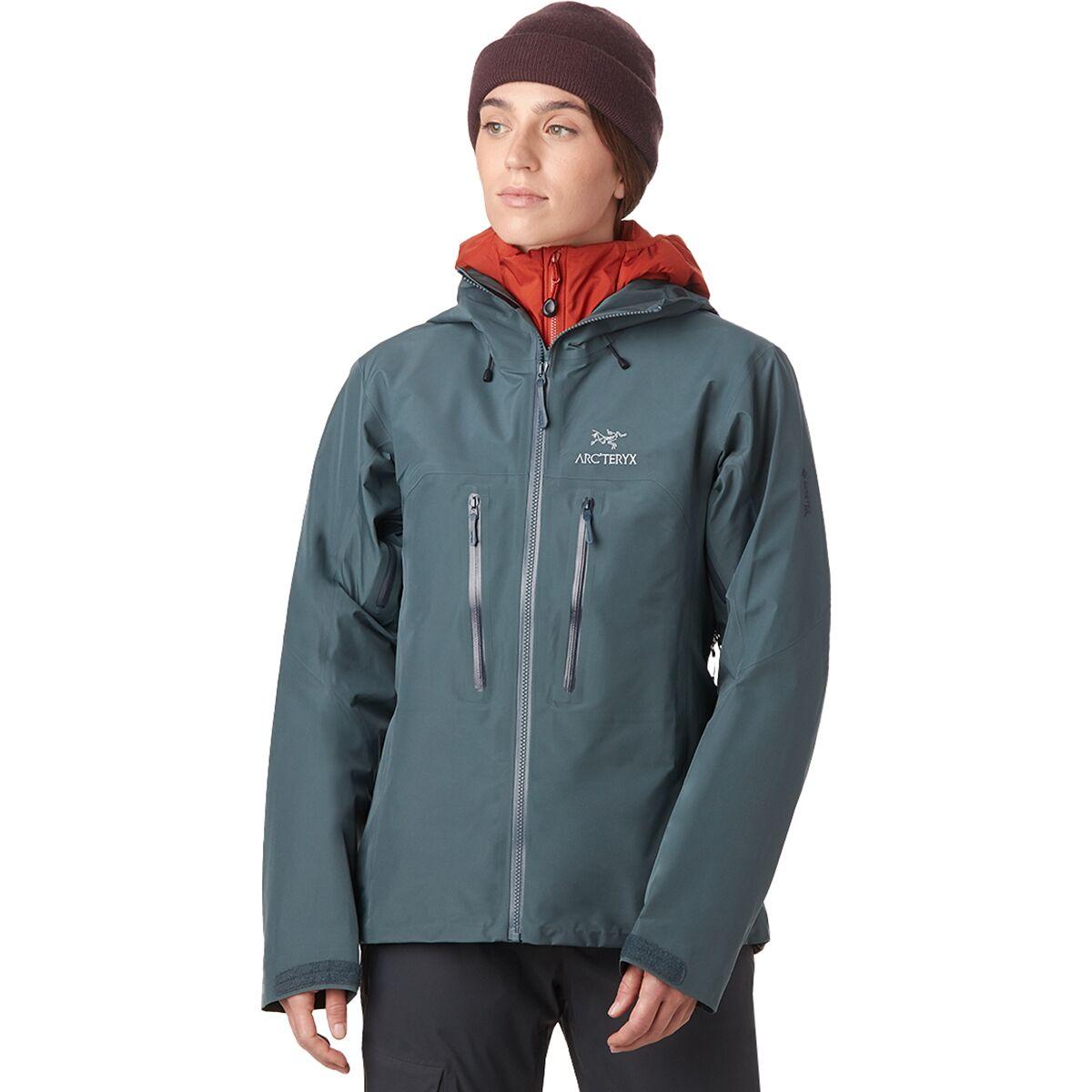 photo: Arc'teryx Women's Alpha AR Jacket waterproof jacket