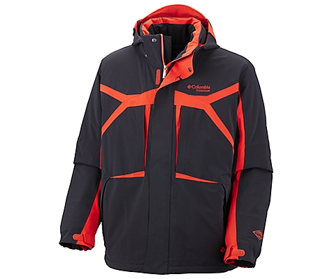 photo: Columbia Black Ice II Jacket snowsport jacket