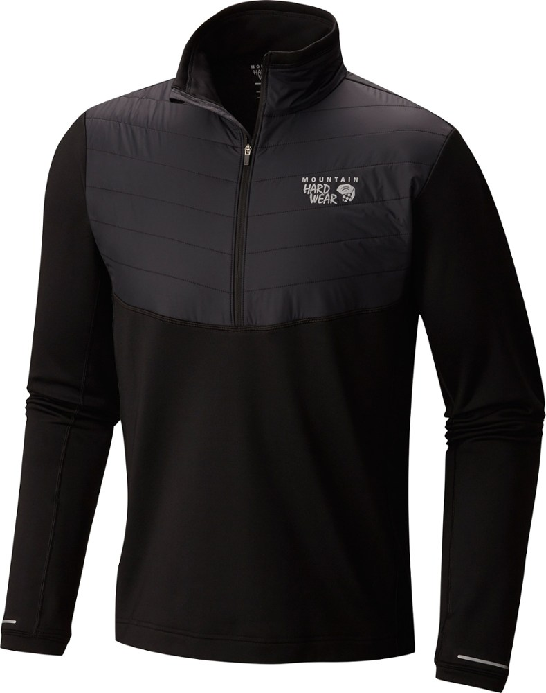 photo: Mountain Hardwear Men's 32 Degree Insulated 1/2 Zip fleece top