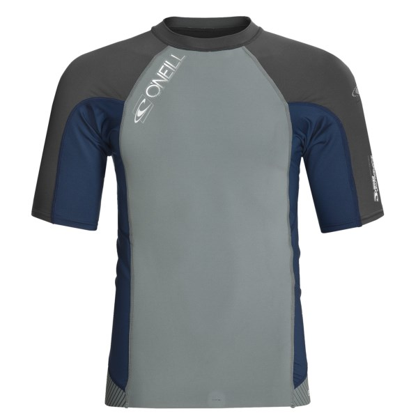 photo: O'Neill Thinskins Superlight S/S Crew short sleeve rashguard