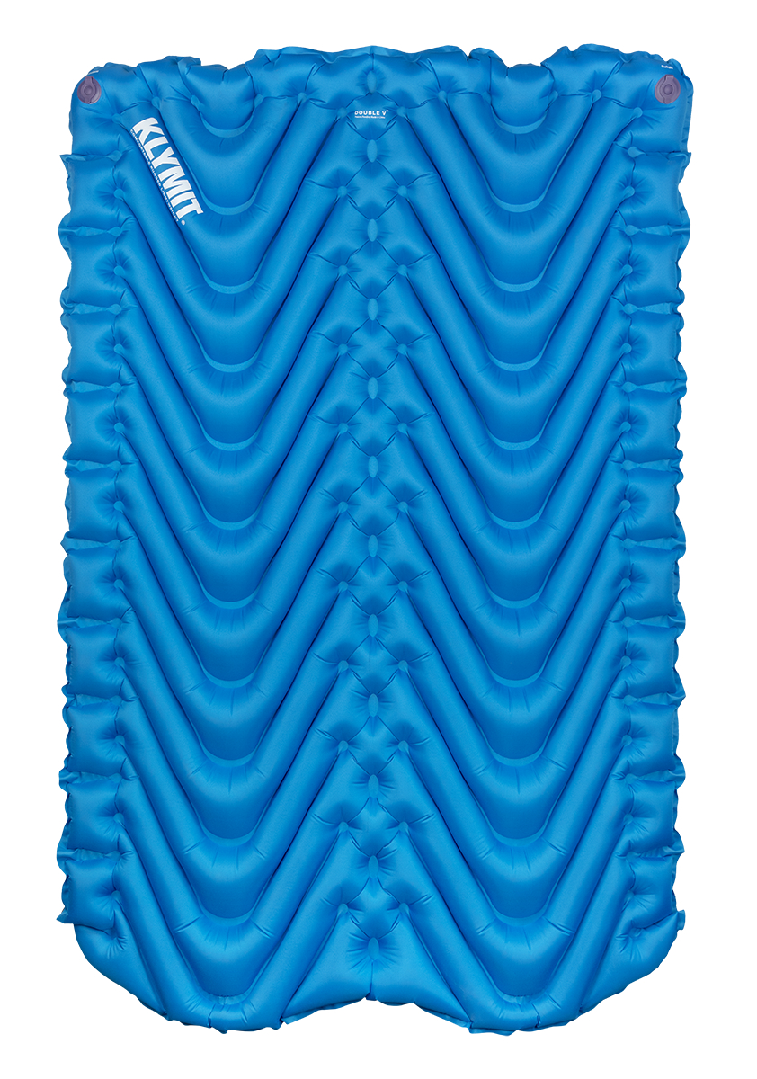 photo: Klymit Double V air-filled sleeping pad