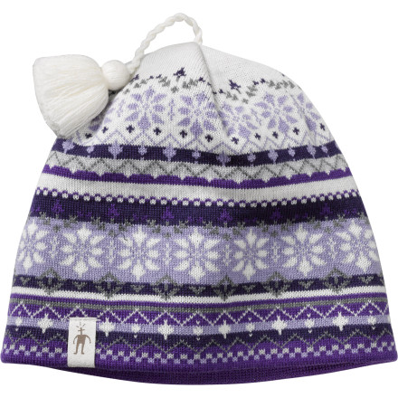 photo: Smartwool Snowflake Fairisle Hat winter hat