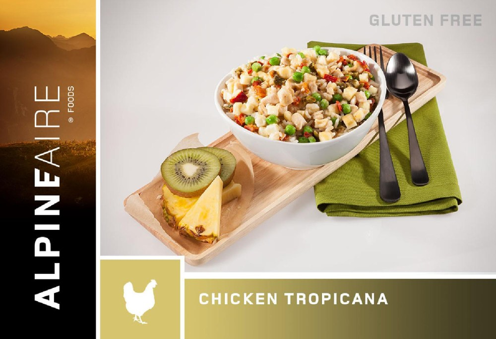 photo: AlpineAire Foods Chicken Tropicana meat entrée