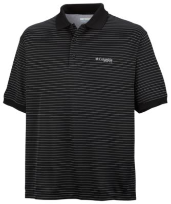 photo: Columbia Super Cast Polo short sleeve performance top