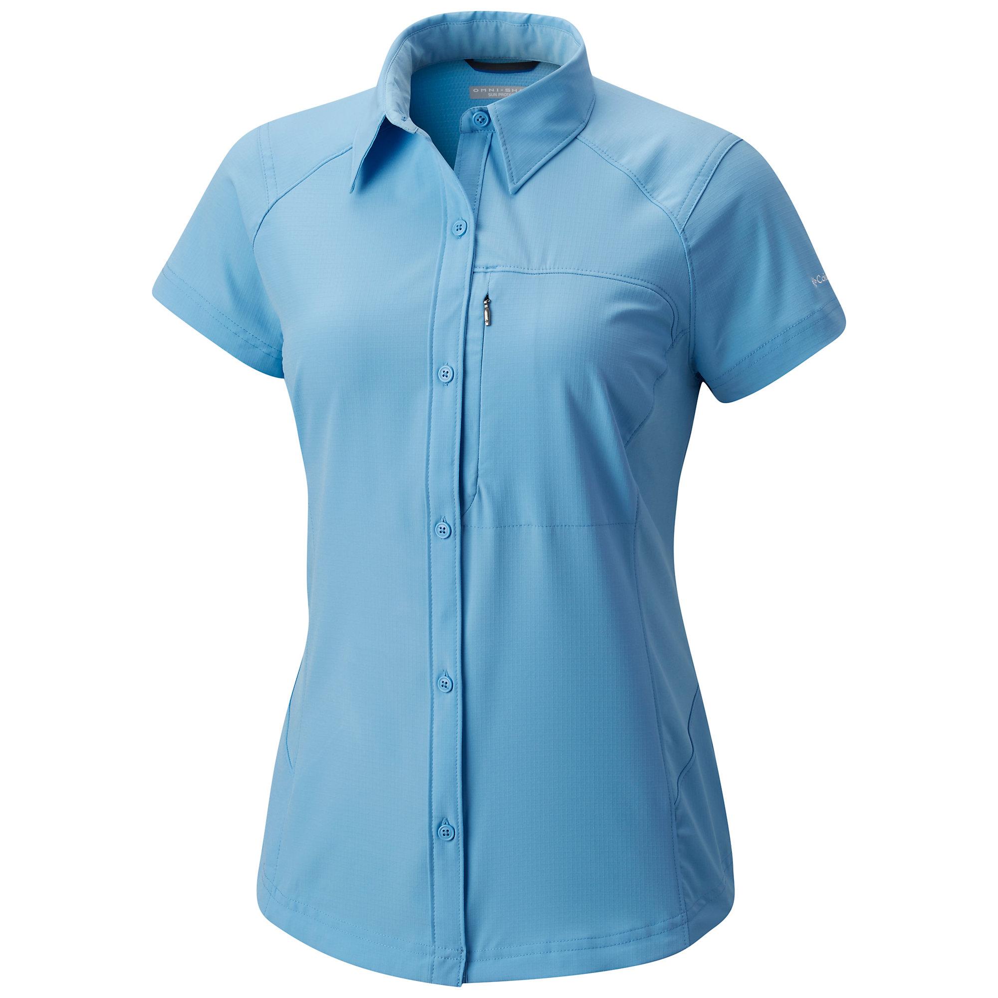 photo: Columbia Women's Silver Ridge Short Sleeve Shirt hiking shirt