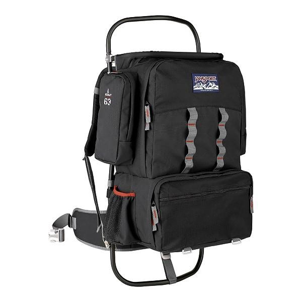 photo: JanSport Scout external frame backpack