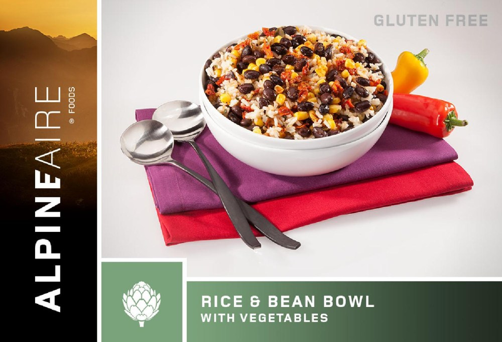 AlpineAire Foods Rice & Bean Bowl with Veggies