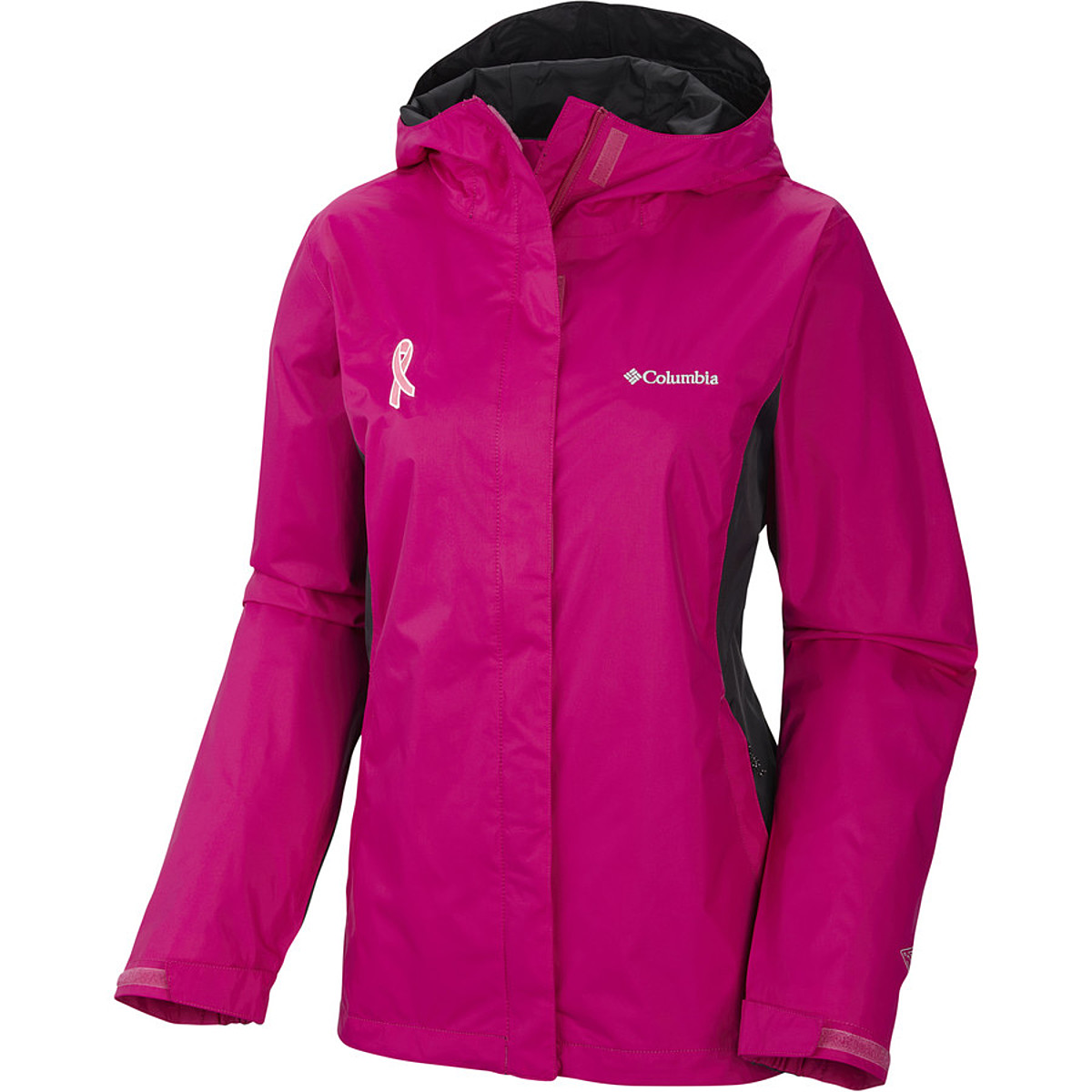 photo: Columbia Tested Tough in Pink Jacket waterproof jacket
