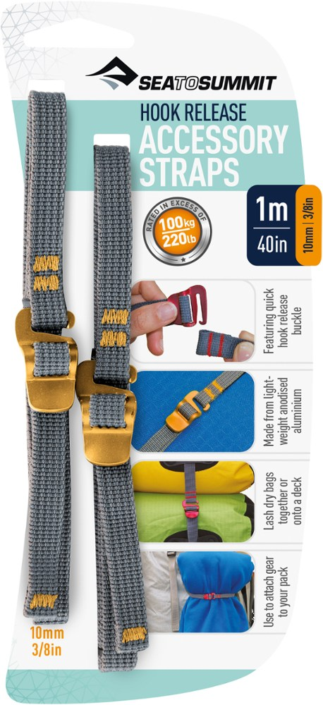Sea to Summit Accessory Straps with Hooks