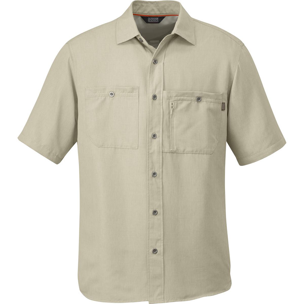 photo: Outdoor Research Wayward S/S Shirt hiking shirt