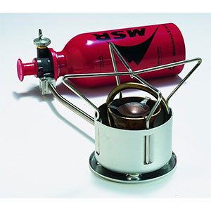 photo: MSR XGK II Shaker liquid fuel stove