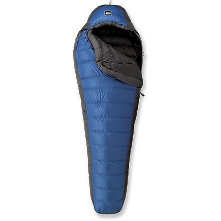 photo: REI Halo +25 3-season down sleeping bag