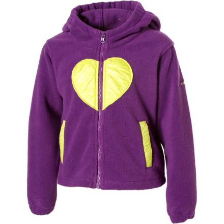 photo: Columbia Kids' Cuddly Kailyn Jacket fleece jacket