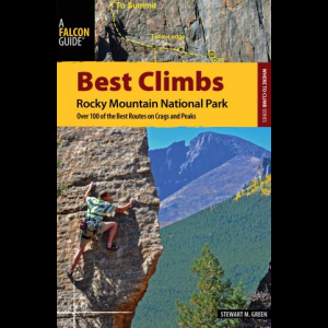 photo: Falcon Guides Best Climbs: Rocky Mountain National Park us mountain states guidebook