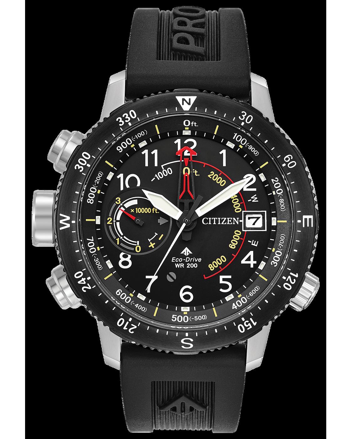 photo: Citizen Promaster Altichron altimeter watch
