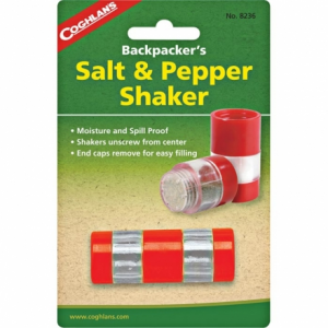 Coghlan's Backpacker's Salt & Pepper Shaker