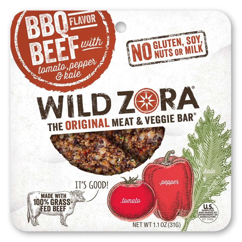 photo: Wild Zora BBQ Flavor Beef snack/side dish