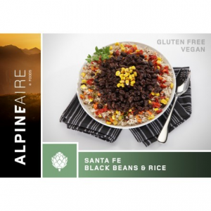 photo: AlpineAire Foods Santa Fe Black Beans & Rice vegetarian entrée