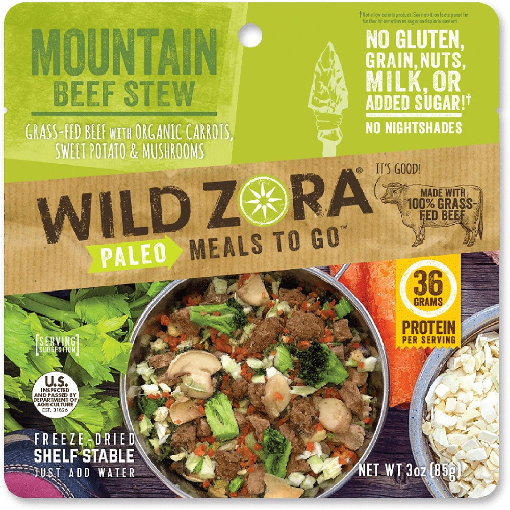 Wild Zora Mountain Beef Stew