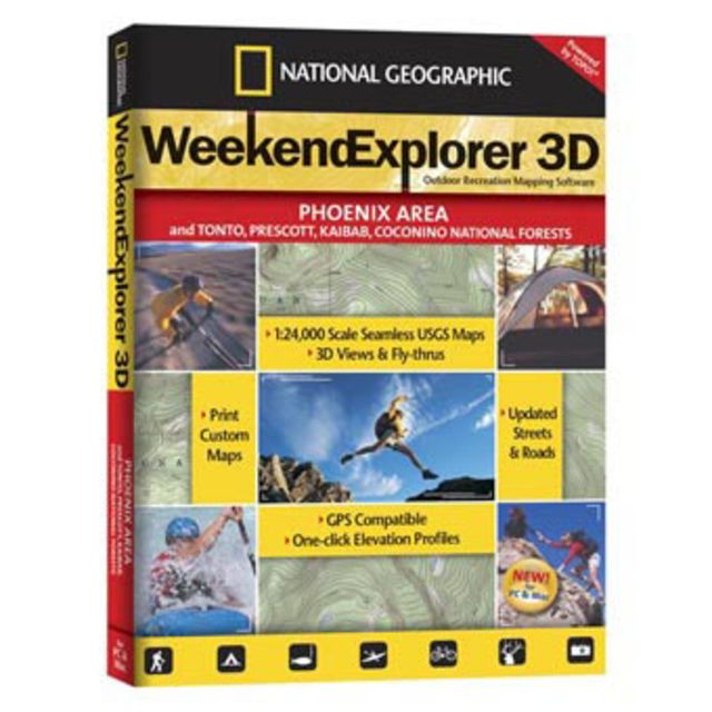 National Geographic Big Bend National Park Explorer 3D CD-ROM