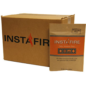 photo of a InstaFire fire starter