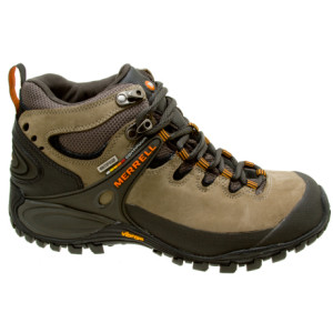 photo: Merrell Chameleon II Leather Mid Waterproof hiking boot