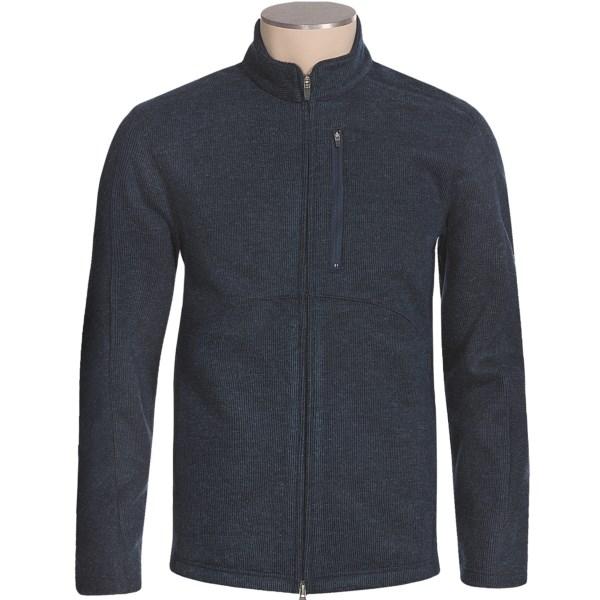 photo: Royal Robbins Kaden Full Zip Jacket wool jacket