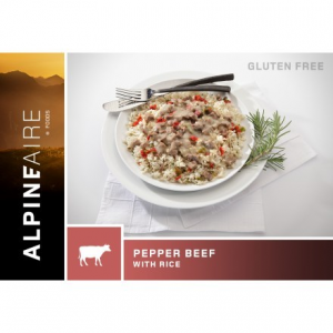 photo: AlpineAire Foods Pepper Beef with Rice meat entrée