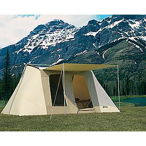 photo: Kodiak Canvas 10x10 Flex-Bow Canvas Tent Deluxe four-season tent