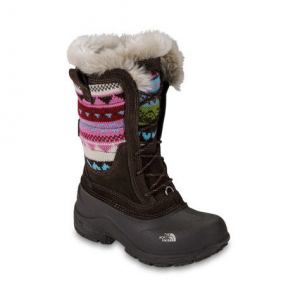 photo: The North Face Girls' Shellista Lace Boot winter boot